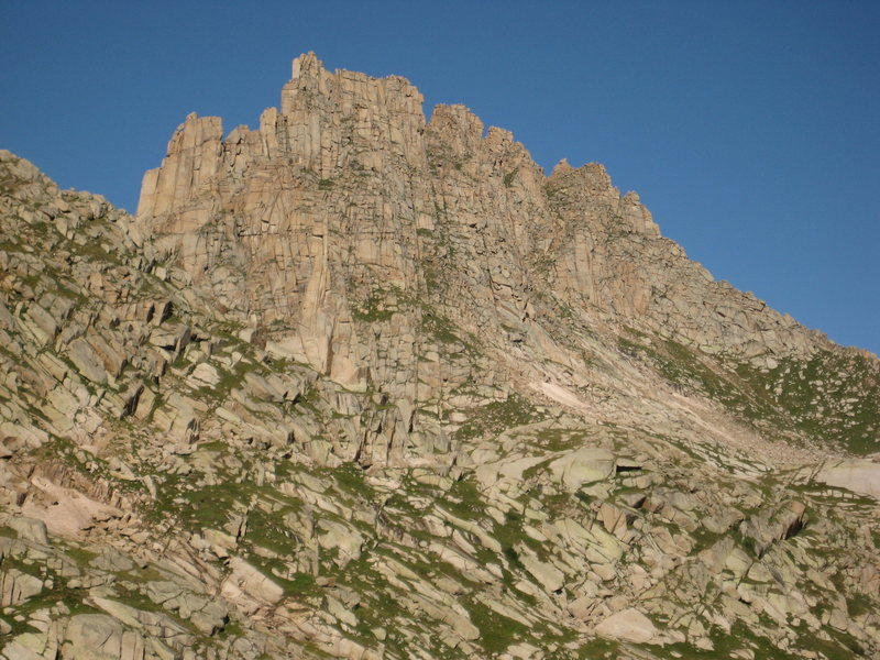 Rock Climbing Photo: The north face of Jagged.