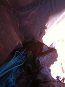 """Rock Climbing Photo: On top of the """"Death Block"""""""