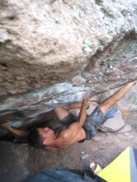 Rock Climbing Photo: Captain Hook