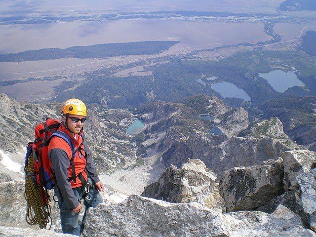 Rock Climbing Photo: Teton