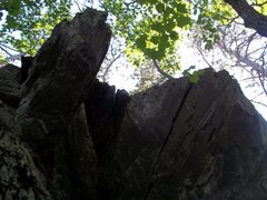 Rock Climbing Photo: Loose? Don't think it will break from a fall but m...