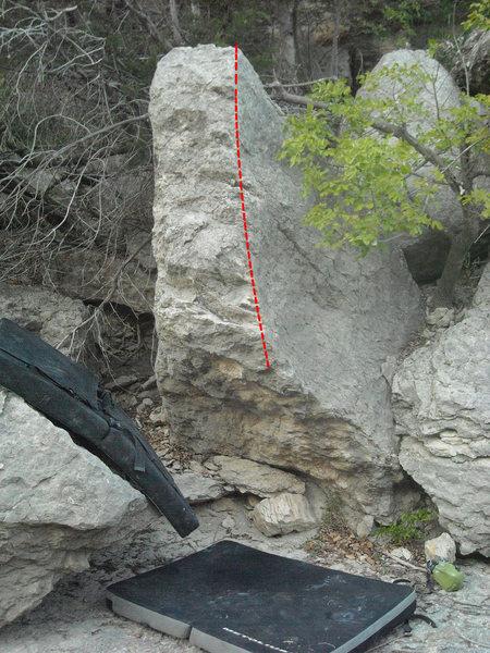 "Rock Climbing Photo: ""I Sharted"""