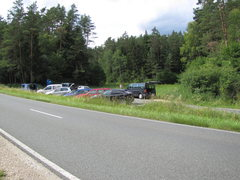 Rock Climbing Photo: The parking area next to Wiessenstein is a 1 minut...