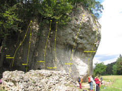 Rock Climbing Photo: Just 6 of the 20 routes, variations, and traverses...