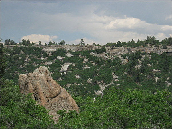 Rock Climbing Photo: Castlewood Canyon. Photo by Blitzo.