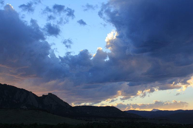 Flatiron sunset
