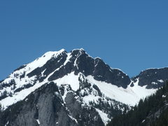 Rock Climbing Photo: Big Bear Mt. and Green Giant Buttress