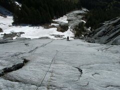Rock Climbing Photo: Pitch 3 of Westward Ho 5.9