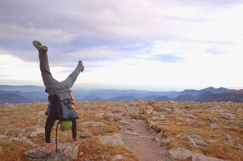 Rock Climbing Photo: Feeling the mountain vibes.