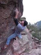 Rock Climbing Photo: Bouldering on Flagstaff