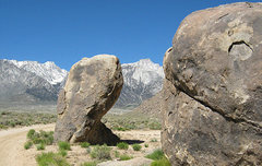 Rock Climbing Photo: Alabama Hills. Photo by Blitzo.