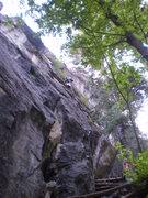 Rock Climbing Photo: Good climbing on a cool summer evening.