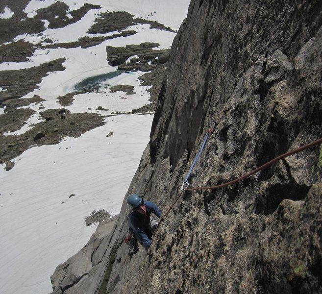 Rock Climbing Photo: Adam on ATO.