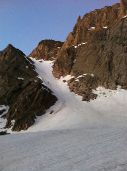 We saw a party of 4 heading up the Lamb's Slide yesterday.   Also saw 2 skier tracks at the end of the day.