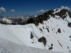Rock Climbing Photo: The South Ridge and North Arapahoe, from about the...