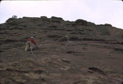Rock Climbing Photo: East Face, First Flatiron 1973