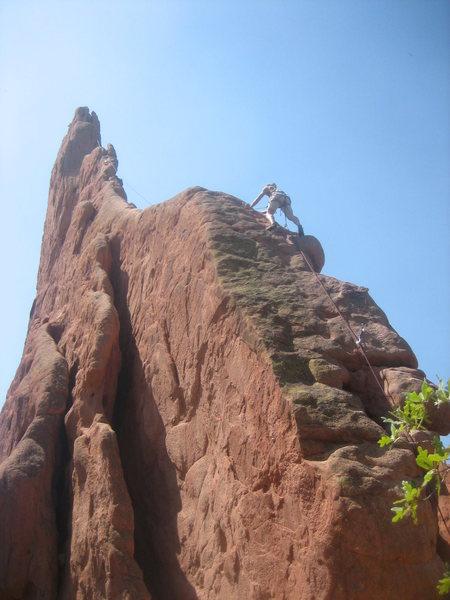 Classic climb fer sure.