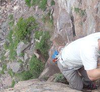 Rock Climbing Photo: Rock in mid air