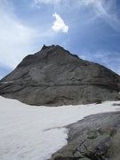 Rock Climbing Photo: Spearhead conditions 7-4-11.