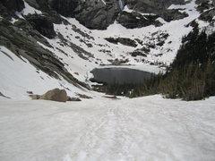 Rock Climbing Photo: Black Lake.
