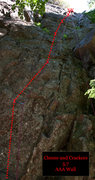 Rock Climbing Photo: Cheese and Crackers 5.7