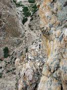 Rock Climbing Photo: Walt as seen from the top of Gollum's Column.