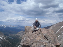 Rock Climbing Photo: Summit shot. What a great day.