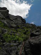 Rock Climbing Photo: Pitch 2, The Diagonal