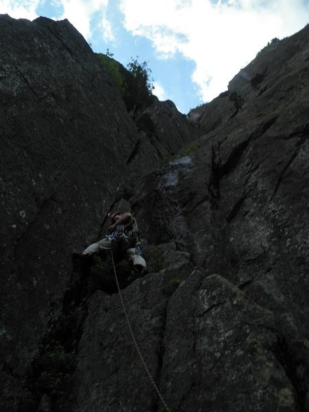 Rock Climbing Photo: Pitch 7, The Diagonal