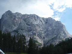 Rock Climbing Photo: No shortage of rock here...