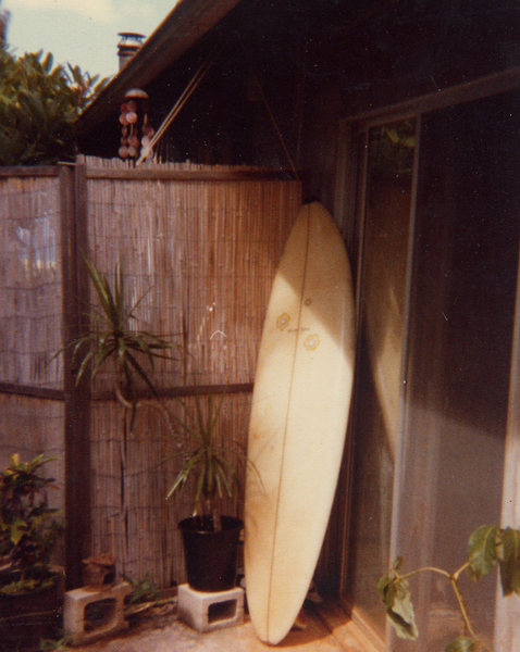 my first surf board
