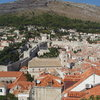 city walls of Dubrovnik<br>