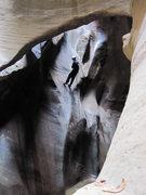 Rock Climbing Photo: Deep in Pine Creek Canyon