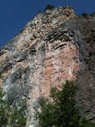 Rock Climbing Photo: PMT (aka Squawk Box) on the right. PMS in the midd...