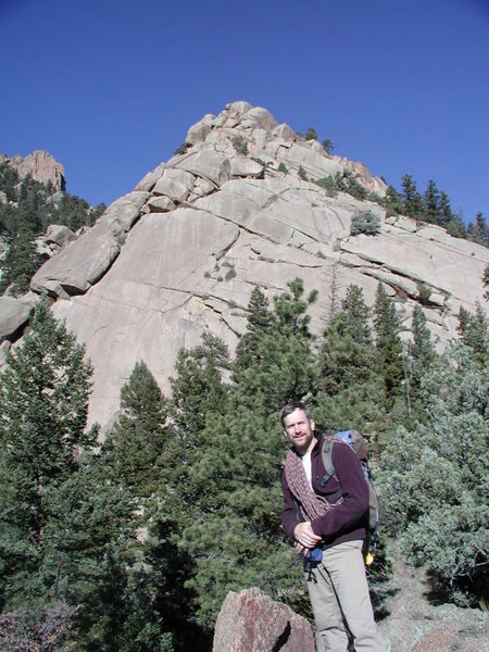 Snake Buttress, South Platte, 2002
