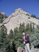 Rock Climbing Photo: Snake Buttress, South Platte, 2002