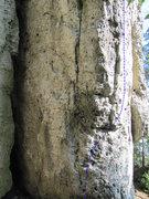 Rock Climbing Photo: The beginning of Tapferes Schneiderlein.