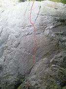 Rock Climbing Photo: Jester 11a