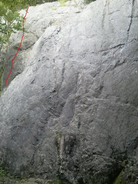 Rock Climbing Photo: Cleopatra 11a