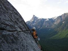 Rock Climbing Photo: Matt on P8