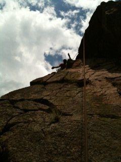 Rock Climbing Photo: Woo hoo!