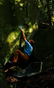Rock Climbing Photo: 'The Riverbed', Boulder Natural