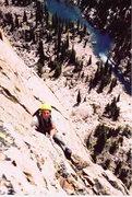 Rock Climbing Photo: Becky route