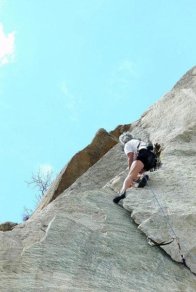 Rock Climbing Photo: Gordons Hangover flake