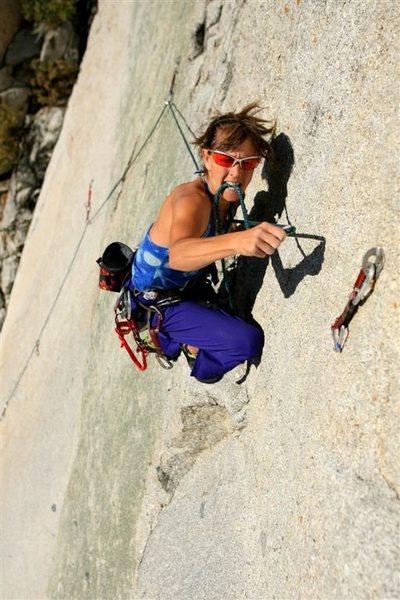 Kermits wad lead climbing