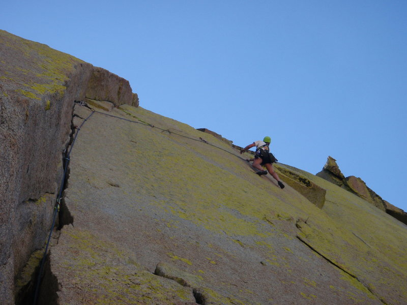 Rock Climbing Photo: Awesome Airy Interlude