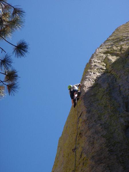 Rock Climbing Photo: Chris 2