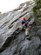 Rock Climbing Photo: The start of YY