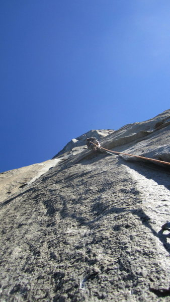 Rock Climbing Photo: from the stovelegs