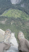 Rock Climbing Photo: View from Sois le Tois